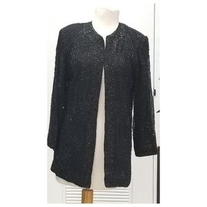 COPY - Vtg Brilliante JA Beaded jacket sm
